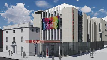 Wizualizacja przebudowy kinoteatru Grunwald w Toruniu