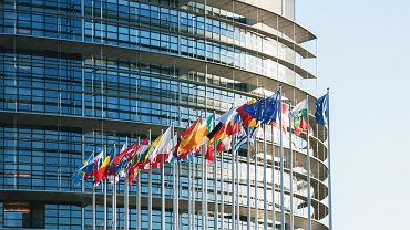 Parlament Europejski w Strasburgu