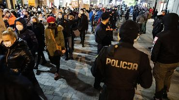 Sobotni strajk kobiet w Lublinie. Pierwsze zatrzymania przez policje