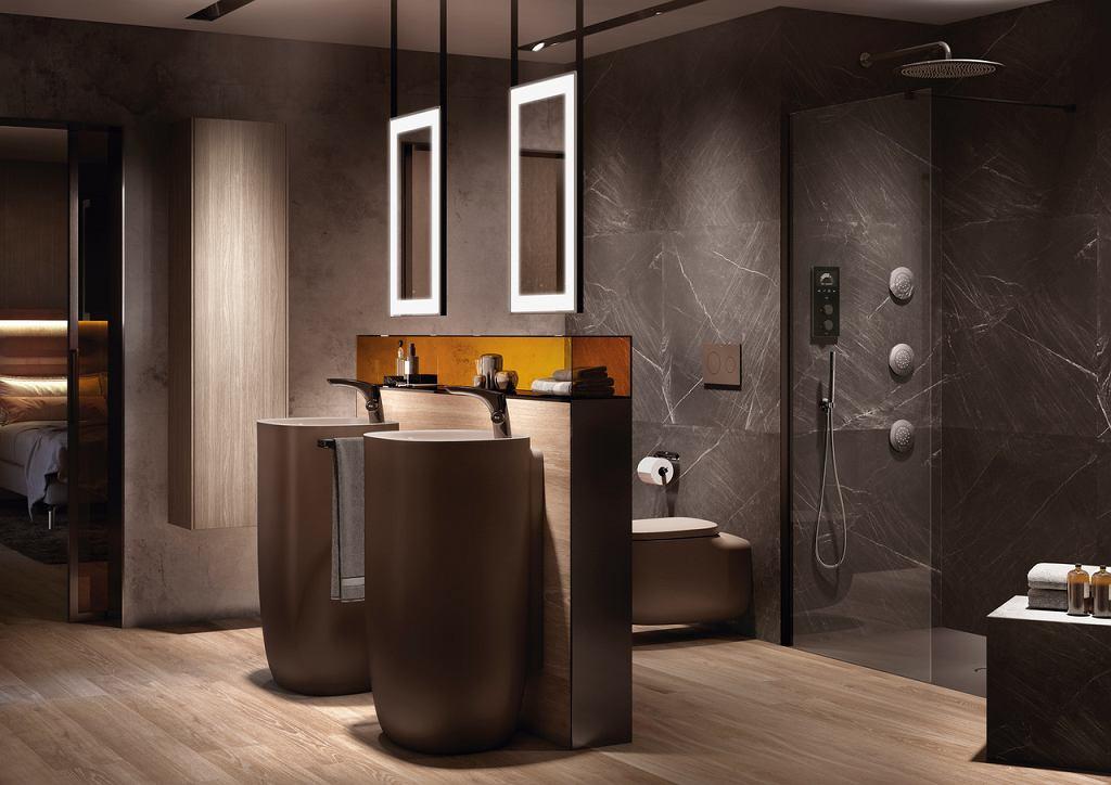 Punkty świetlne w nowoczesnej łazience