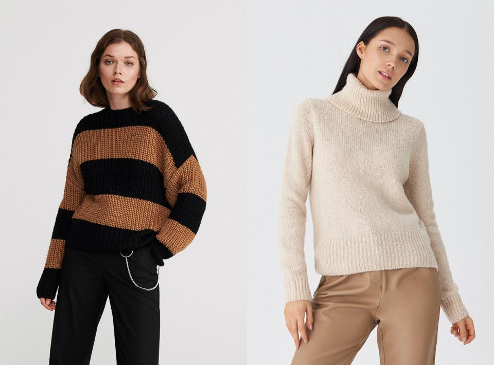 swetry z wełną
