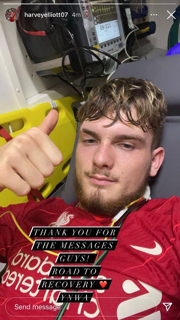 Harvey Elliott z wiadomością dla fanów Liverpoolu