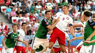 Reprezentacja Polski w meczu z Irlandią Północną