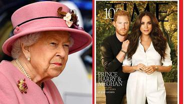 Królowa Elżbieta II, magazyn 'Time'