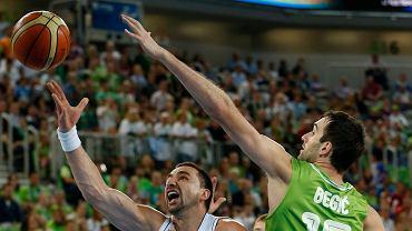 EuroBasket 2013. Słowenia - Serbia