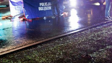 Oględziny policji (zdjęcie ilustracyjne)