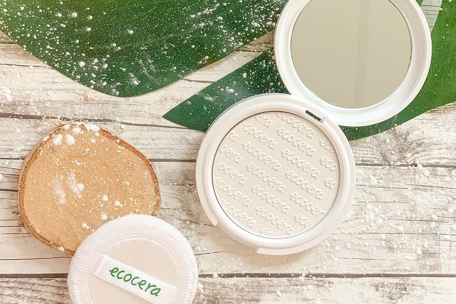 Naturalne kosmetyki do makijażu - puder Ecocera