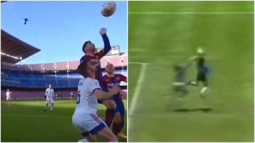Gol dla Barcelony, przy którym Messi prawie skopiował 'Rękę Boga' Diego Maradony