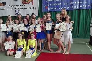 Pajęczarki dały popis na ogólnopolskich zawodach w Łochowie
