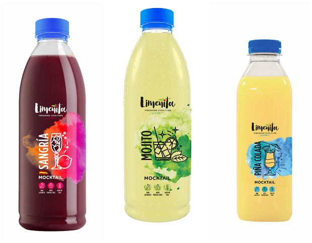 Mojito, Sangria & Pina Colada Bezalkoholowe NOWOŚCI marki Limenita