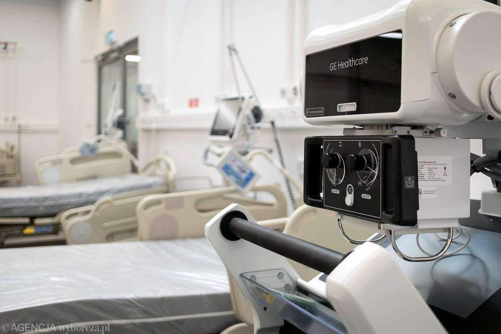 Koronawirus w Polsce (szpital covidowy - zdjęcie ilustracyjne)