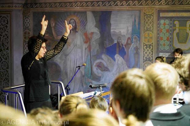 Zdjęcie numer 0 w galerii - Bożonarodzeniowy koncert Pueri et Puellae Cantores Plocenses w katedrze [FOTO]
