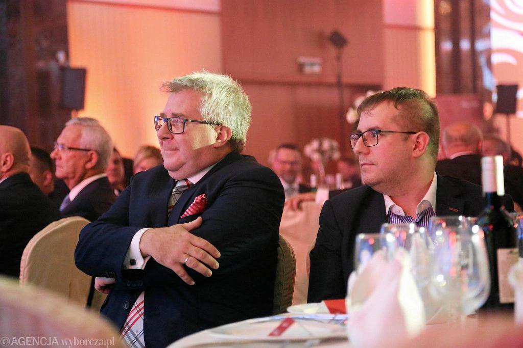 Ryszard Czarnecki i Przemysław Czarnecki