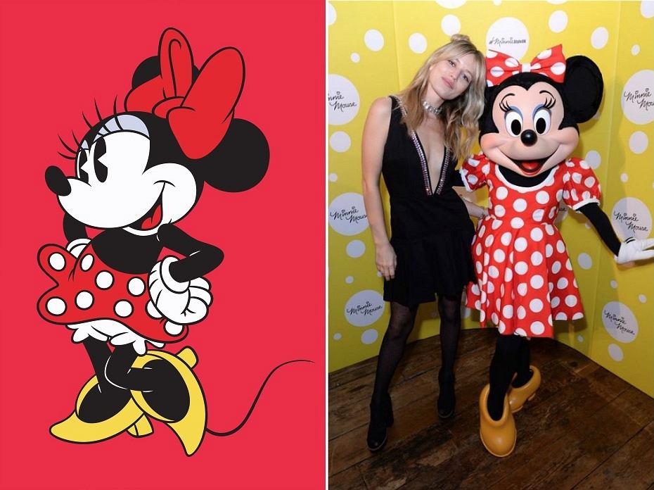 Myszka Minnie pozostaje ikoną stylu. Pojawia się nawet na London Fashion Week