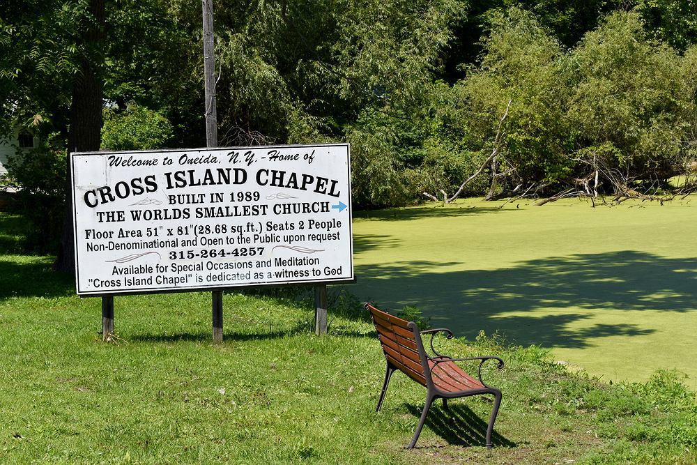 Cross Island Chapel. Zdjęcie ilustracyjne