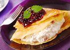Naleśniki z serem - Zdjęcia