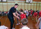 Piłkarze Orlen Wisły w SP 3. Szkoła będzie miała klasę sportową [FOTO]