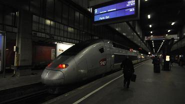 TGV, koleje francuskie SNCF (zdjęcie ilustracyjne)