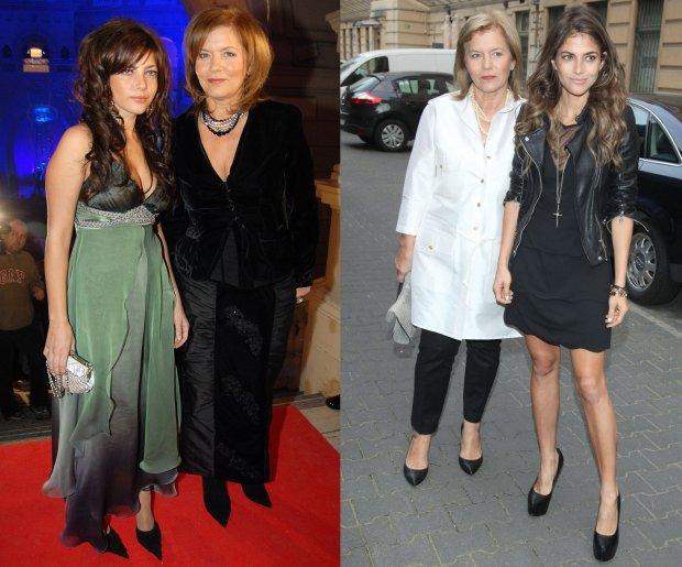 Teresa Rosati w 2003 i 2015 roku