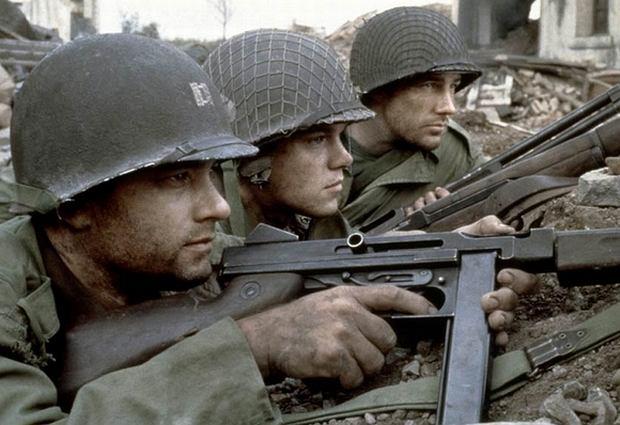 Kadr z filmu ''Szeregowiec Ryan''