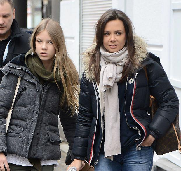 Kinga Rusin z mamą, córka, Iga Lis