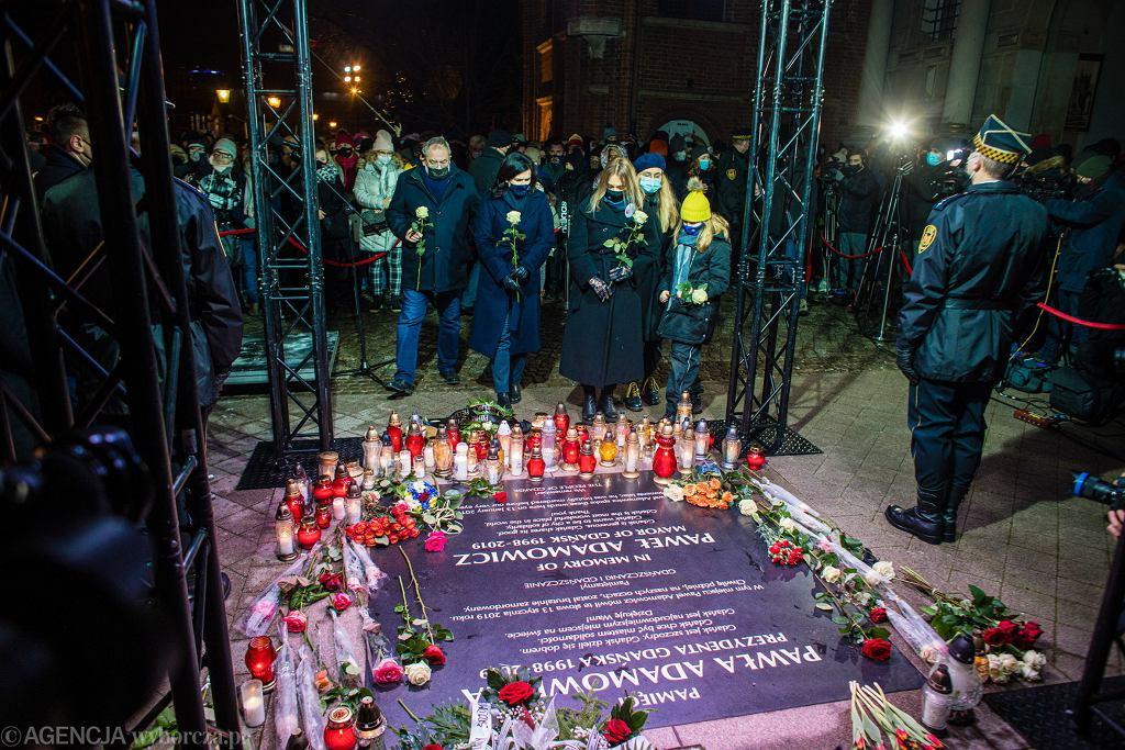 Druga rocznica śmierci Pawła Adamowicza