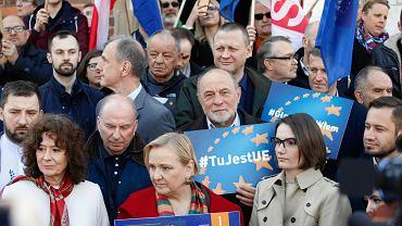 Eurowybory 2019. Kandydatki oraz kandydaci Koalicji Europejskiej do Parlamentu Europejskiego z Małopolski i Świętokrzyskiego.