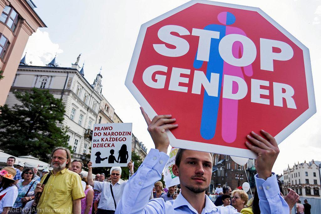 Marsz dla życia i rodziny w Krakowie