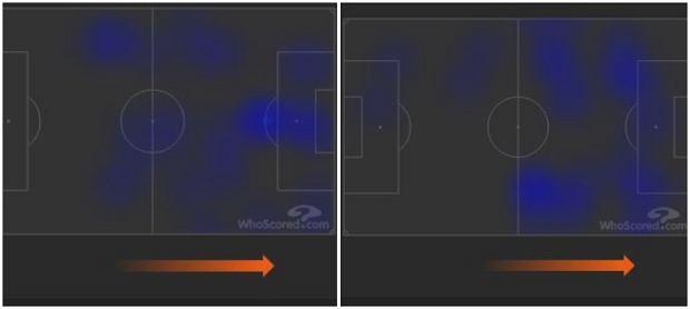 Piątek (lewa strona) i Cutrone (prawa) w meczu z Udinese