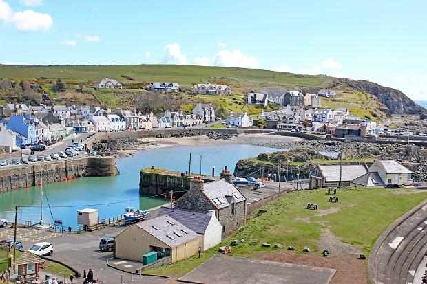 Portpatrick, wieś w Szkocji.