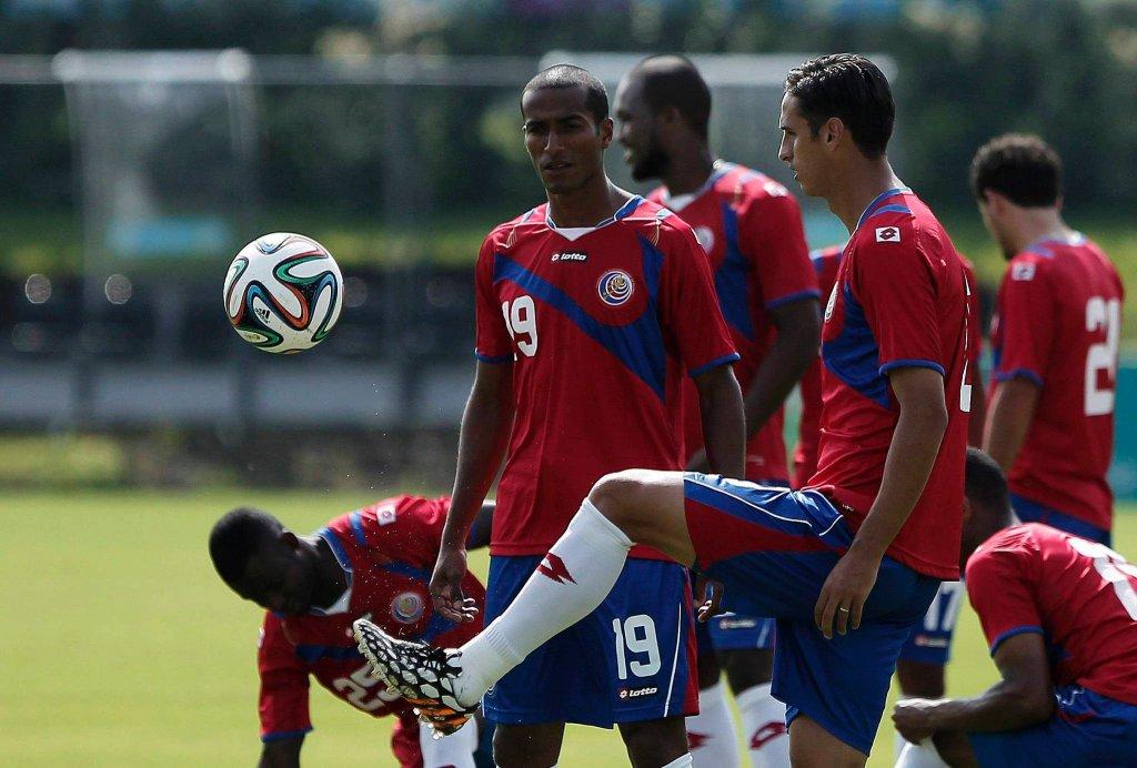 Trening reprezentacji Kostaryki