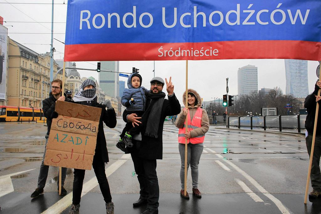 Manifestacja przeciwko rasizmowi pod hasłem 'Nie damy się podzielić!' odbywa się co roku na całym świecie / JACEK MARCZEWSKI