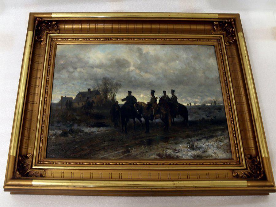 Obraz Gierymskiego odnaleziony