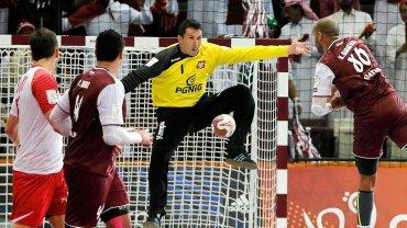 Mecz półfinałowy mistrzostw świata Polska - Katar