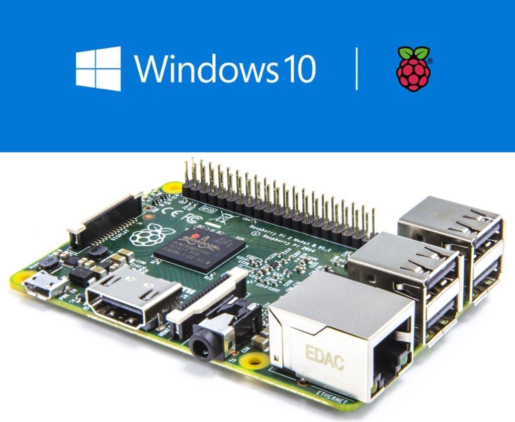 Windows 10 na nowym Raspberry Pi