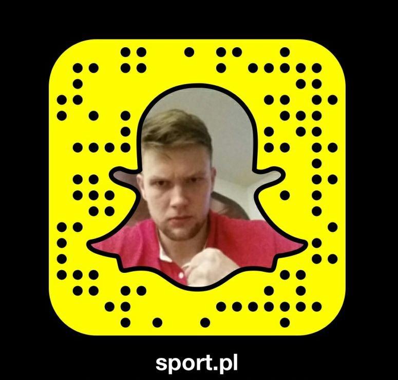 Kamil Syprzak pokazuje kulisy turnieju w Polsce na Snapchacie Sport.pl