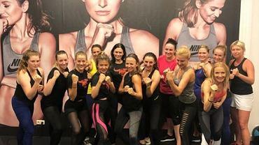 Anna Lewandowska zrobiła niespodziankę podczas treningu w Healhlty Center by Ann. Przyszedł specjalny gość