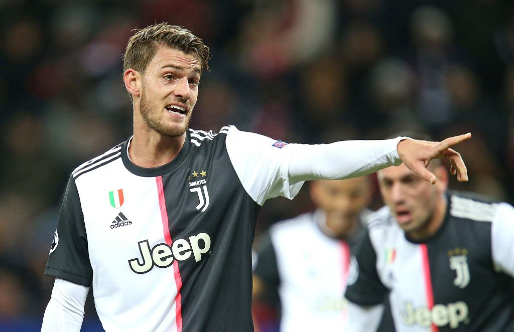 Daniele Rugani w barwach Juventusu Turyn.