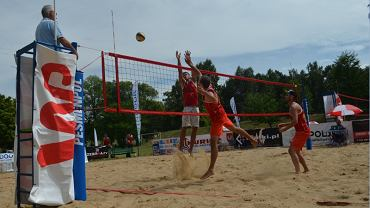 Eliminacje mistrzostw Polski w siatkówce plażowej - Topornia