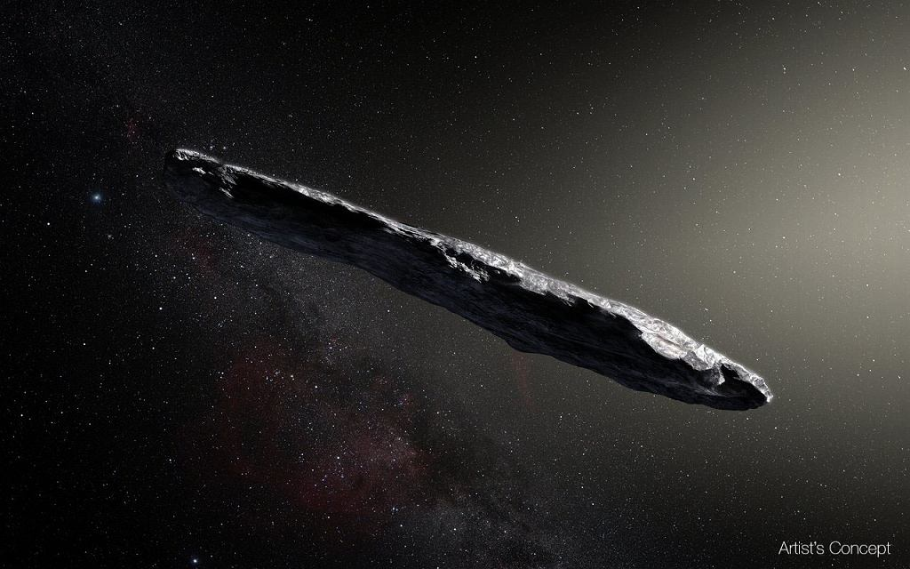 'Oumuamua - prawdopodobny wygląd asteroidy