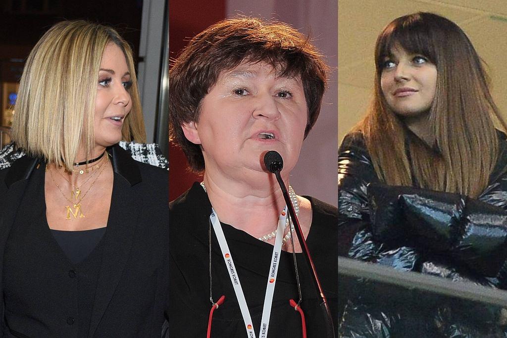 Anna Lewandowska, Magdalena Środa, Małgorzata Rozenek