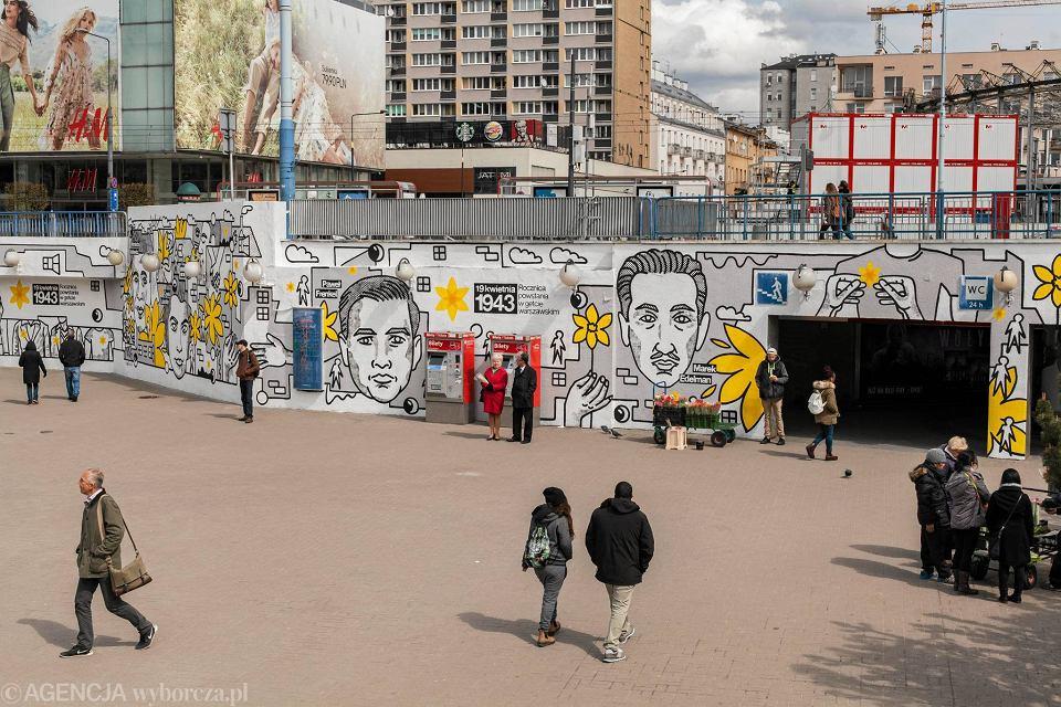 Zdjęcie numer 22 w galerii - Rocznica powstania w getcie warszawskim. Żonkil oznacza pamięć