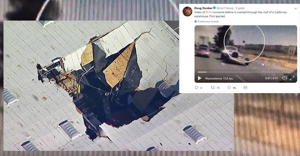 Wypadek samolotu f-16