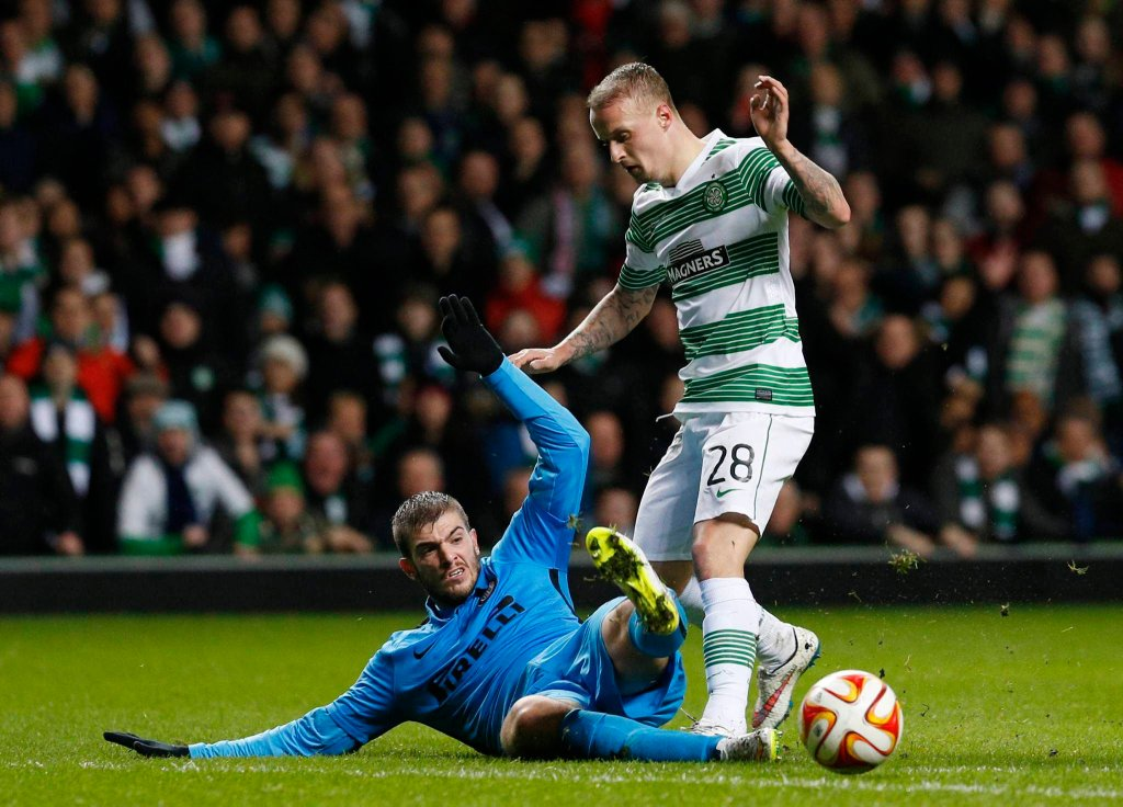 Celtic Glasgow - Inter Mediolan 3:3. Davide Santon i Leigh Griffiths