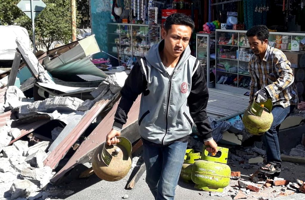 Indonezja. Trzęsienie ziemi na wyspie Lombok