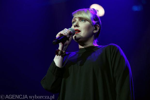 Katarzyna Nosowska z zespołu Hey