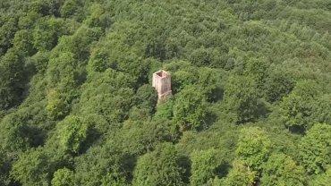 Opuszczona Wieża Bismarcka w Żarach