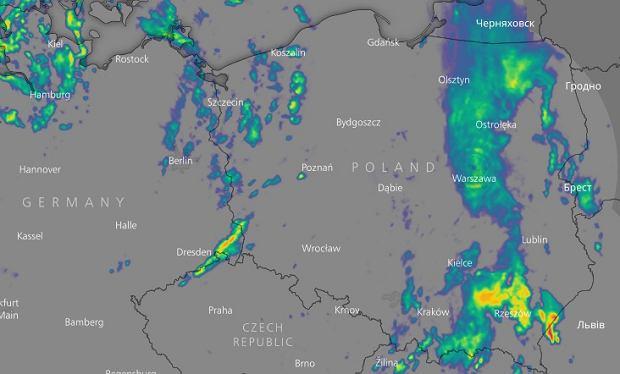 W Sobote Ladniejsza Pogoda Na Zachodzie Kraju Na Wschodzie Ulewy