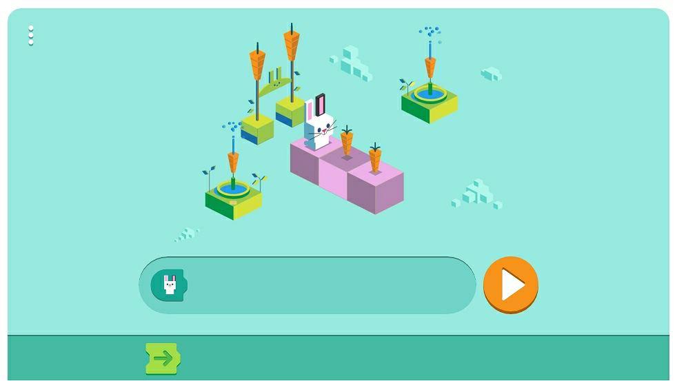 Języki programowania dla dzieci w Google Doodle