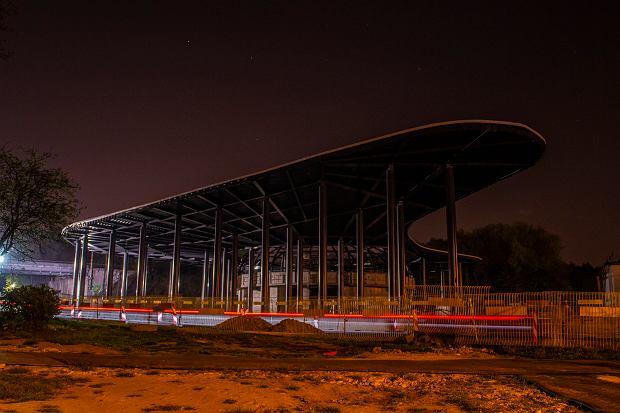 Budowa centrum przesiadkowego w Katowicach Brynowie